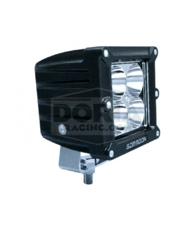 Foco cuadrado 4 LEDs estanco IP67