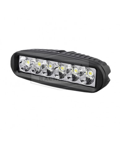 Foco rectangular 6 LEDs estanco