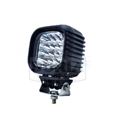 Foco cuadrado 16 LEDs estanco IP67