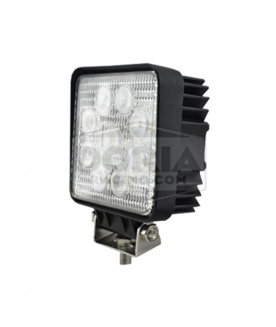 Foco cuadrado 9 LEDs estanco IP67
