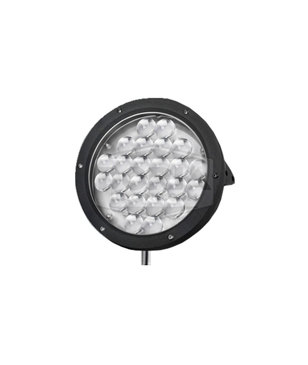 Foco redondeo 24 LEDs estanco