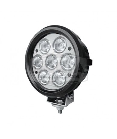 Foco redondo 7 LEDs Estanco
