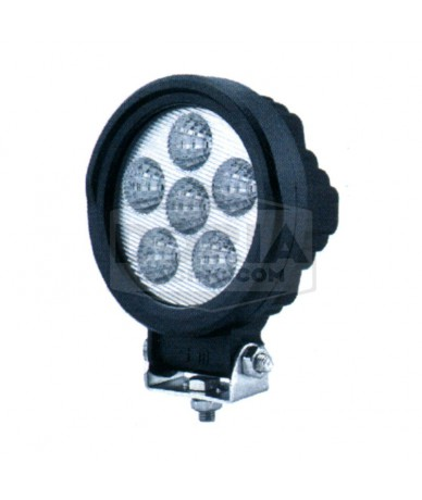 Foco redondo 6 LEDs Estanco