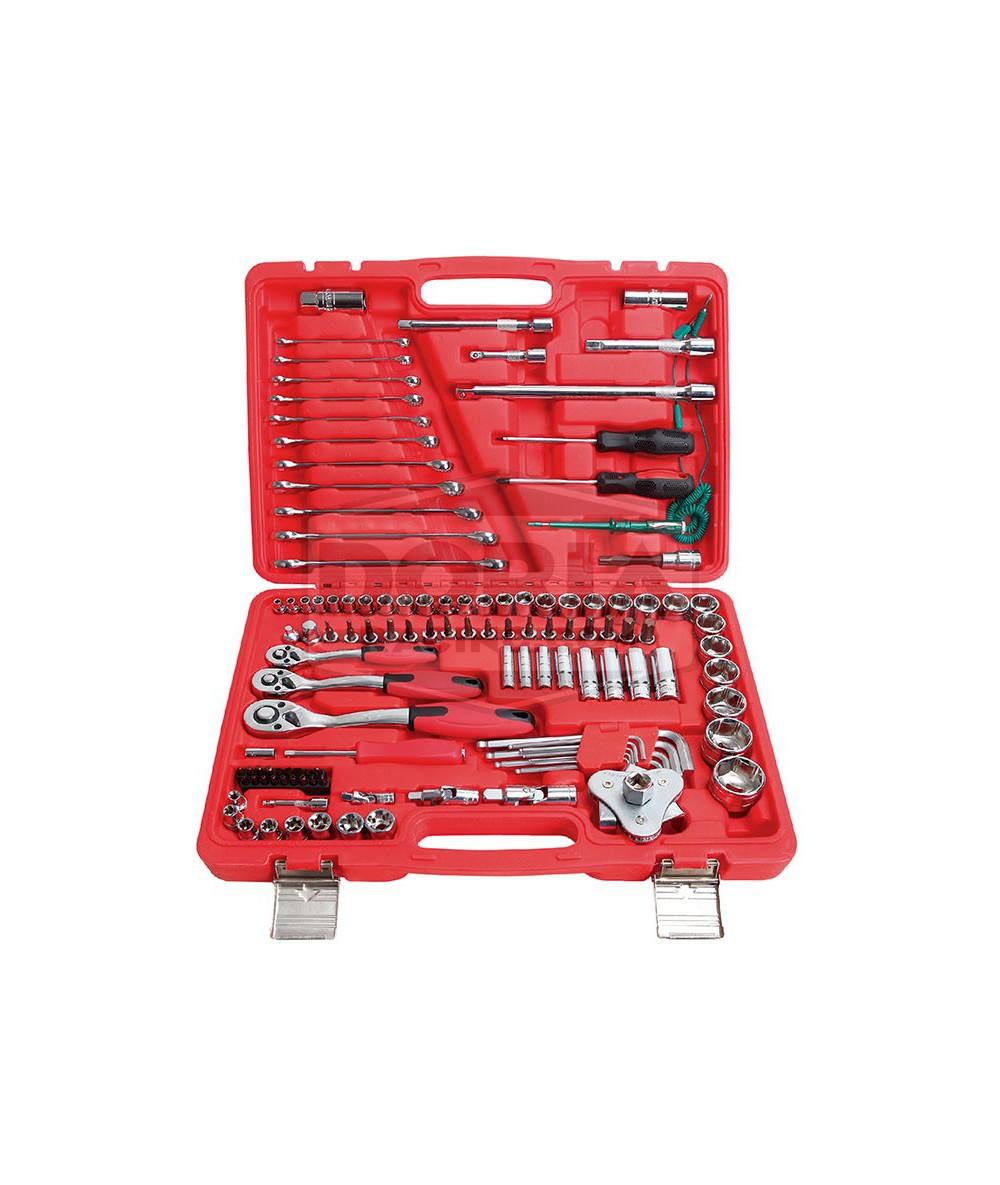 Maletín de herramientas 121 piezas