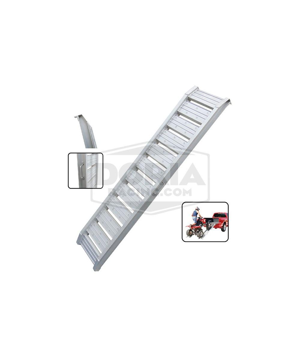 Rampa remolque de aluminio