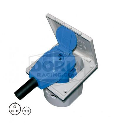 Conector hembra CEE-17