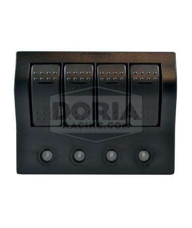 Interruptores con panel eléctrico