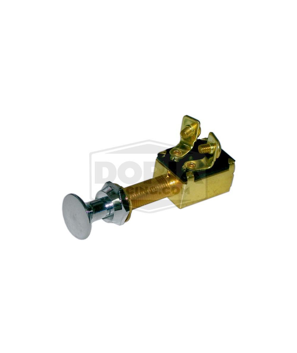 Interruptores de tirar de latón cromado