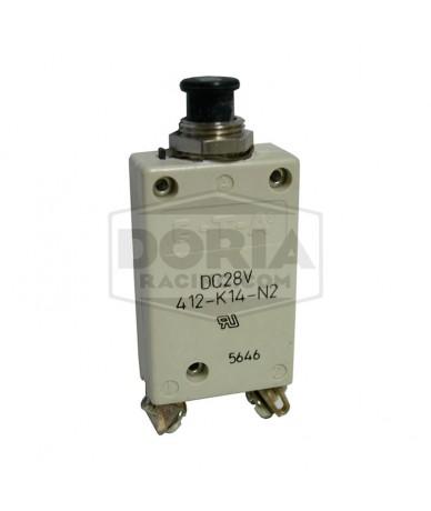 Disyuntores térmicos 10-30 Amperios tracción - presión