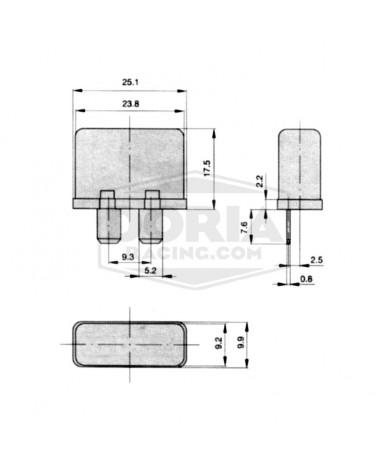 Fusibles con rearme automático 12-30 Amperios