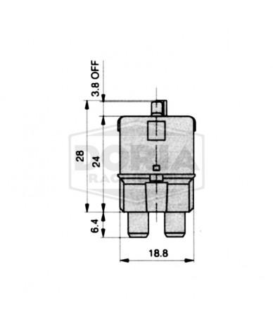 Fusibles con rearme 6-25 Amperios