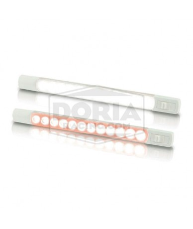Tira de luz LED colores con interruptor