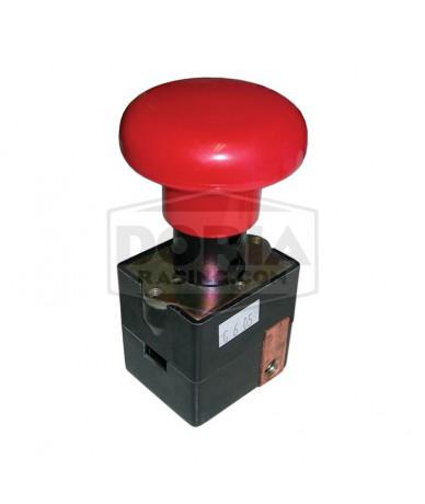 Desconectador de batería manual pulsador