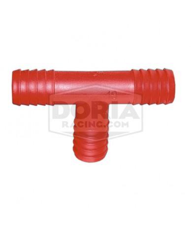 Empalmes T de nylon para tubo