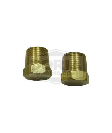 Tapón de bronce 2 unidades
