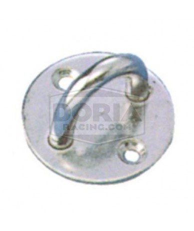 Platina con anilla Inox