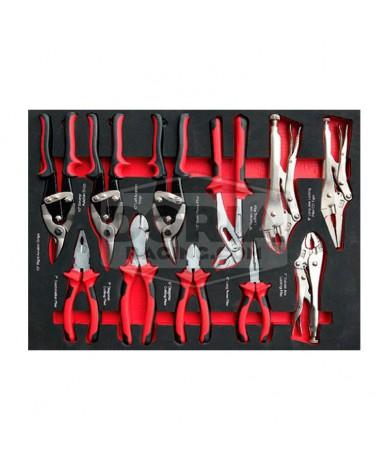 Kit herramientas para carro 11p