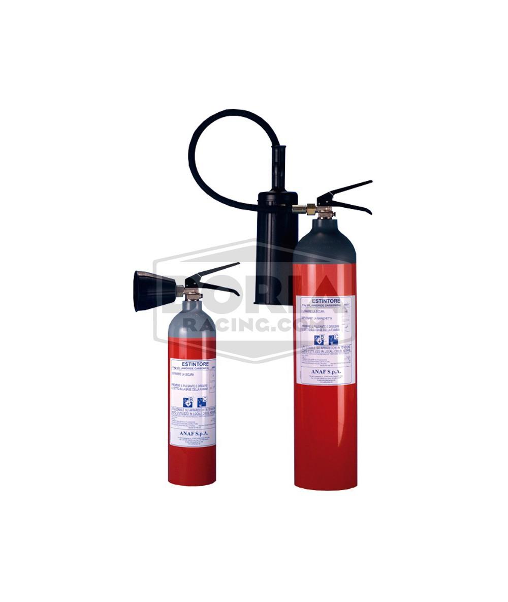 Extintor manual Gas CO2