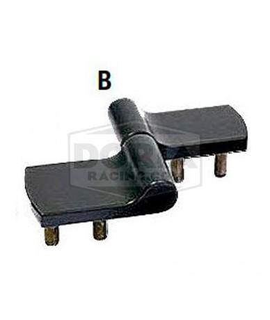 Bisagra zinc con control posicionamiento Mod.B