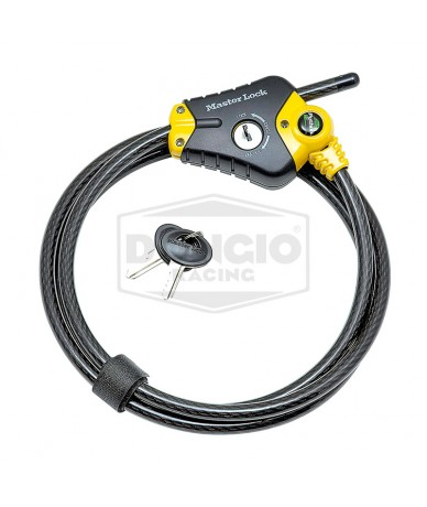 Candado de cable ajustable